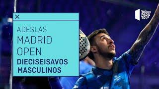 Resumen Dieciseisavos de Final Masculinos - Adeslas Madrid Open 2021 (Tarde) - World Padel Tour