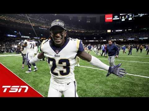Payton, Robey-Coleman react to key missed pass interference call