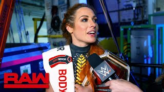 Becky Lynch was out for retribution in Four Horsewomen match: Raw Exclusive, Sept. 9, 2019 thumbnail