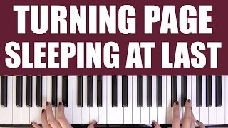 HOW TO PLAY: TURNING PAGE - SLEEPING AT LAST