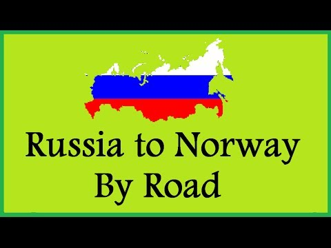 Russian Travel Documentary: Journey to the Norwegian Border, Drive Through Russia Beautiful Scenery