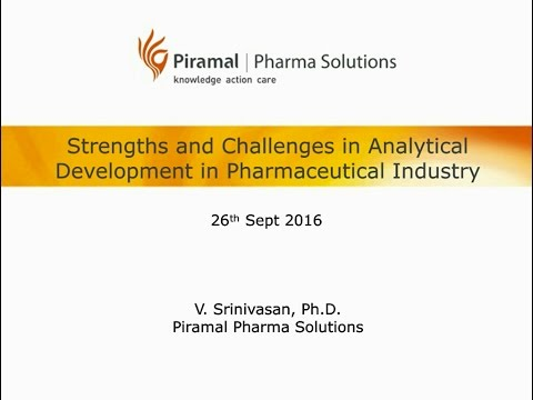Strengths and Challenges in Analytical Development in Pharmaceutical Industry