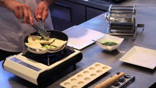 Goat Cheese And Pesto Ravioli Recipe : Italian With A Twist