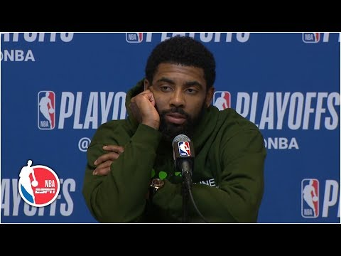 Kyrie Irving brushes off questions on his future after season-ending loss | 2019 NBA Playoffs