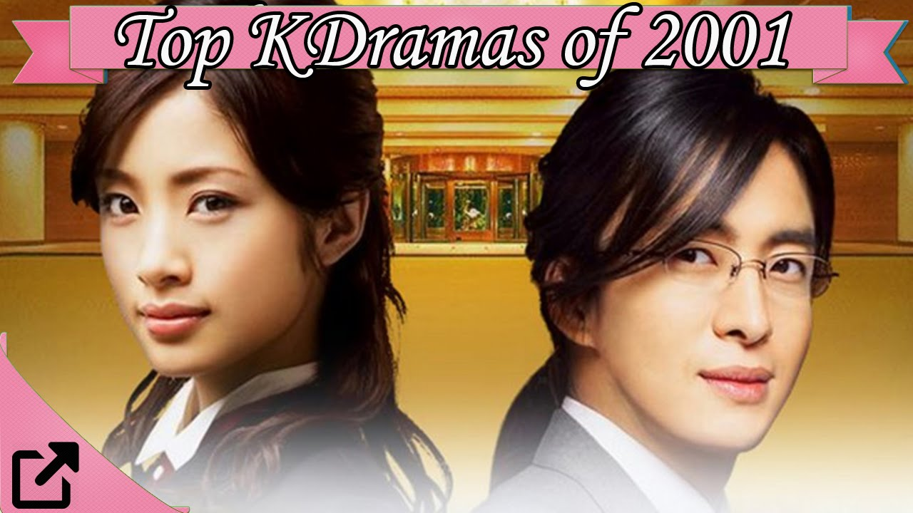Top 10 Korean Dramas of 2001 (All The Time)