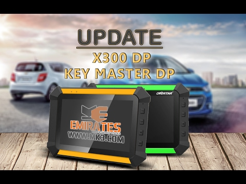 HOW TO UPDATE X300 DP & KEY MASTER DP