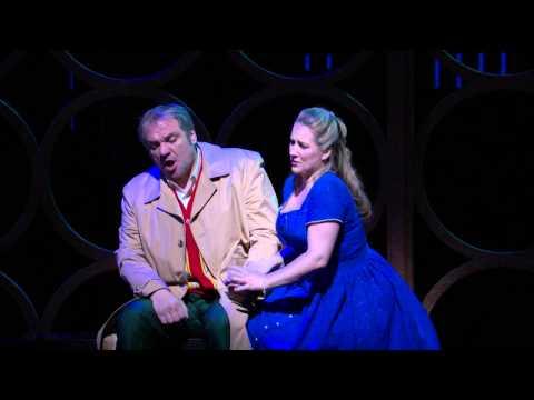 Rigoletto: Act I Duet -- Željko Lučić & Diana Damrau (Met Opera)