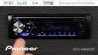 How To - Dimmer and Illumination Settings on Pioneer In-Dash Receivers 2018