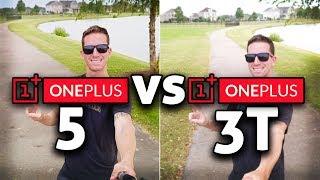 OnePlus 5 vs 3T CAMERA Test Comparison!! (4K)