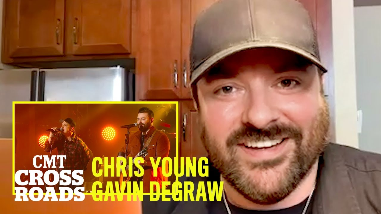 Chris Young Looks Back At Performing w/ Gavin DeGraw | CMT Rearview Mirror