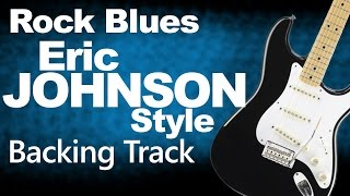 Rock Blues Eric Johnson Style Backing Track 3