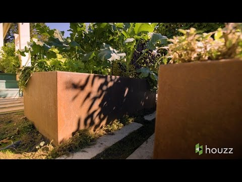 See How Those Cool Rusty Planters Are Made