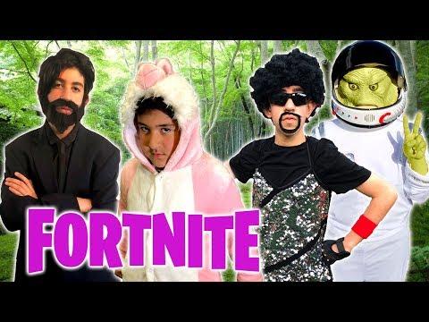 Fortnite Battle Royale In Real Life!! - Epic Kids Parody