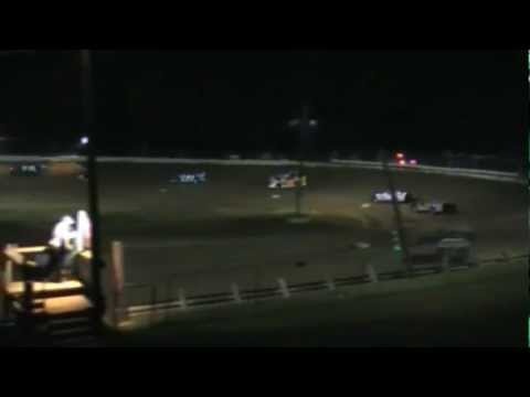 Jackson County Speedway Late Model Highlights 8-26-2011