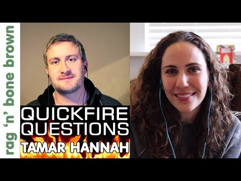 MAKER QUICKFIRE QUESTIONS #4: Tamar Hannah (3x3 Custom) Q&A Interview