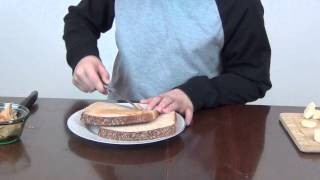 PBB Peanut Butter Banana Sandwich
