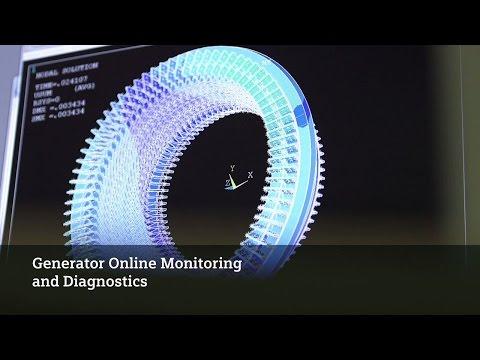 Generator Online Monitoring and Diagnostics