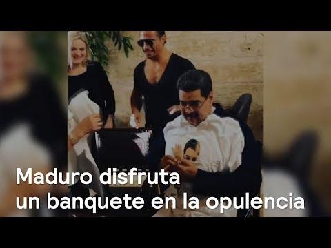 Nicolás Maduro disfruta de un banquete, en Turquía - En Punto con Denise Maerker