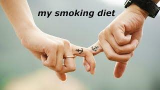 моя диета при прекращении курения