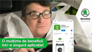 Descarcă aplicația ŠKODA Connect Lite!