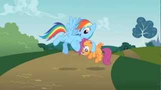 Rainbow Dash - No need to apologize, squirt. Anypony could make a mistake.