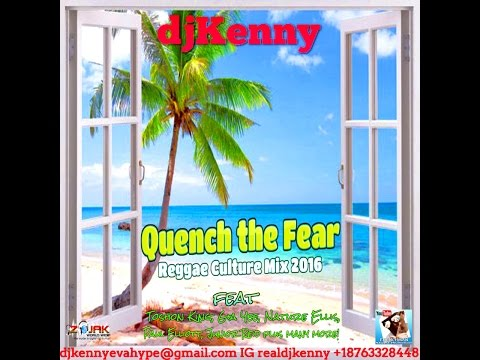 DJ KENNY QUENCH THE FEAR REGGAE CULTURE MIX JUL 2016