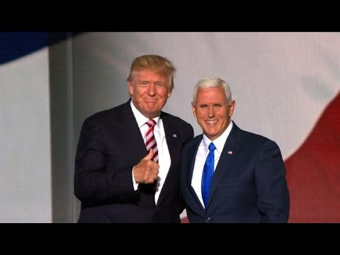 Mike Pence accepts Republican VP nomination