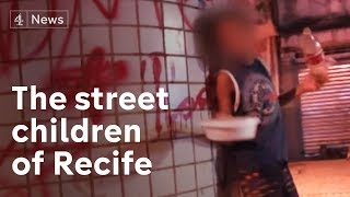 Recife, Brazil: where street children sell sex to survive | Channel 4 News