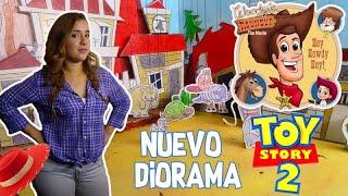 CREANDO MI DIORAMA DEL RODEO DE WOODY   RECREACION   MINIS DE TOY STORY 2