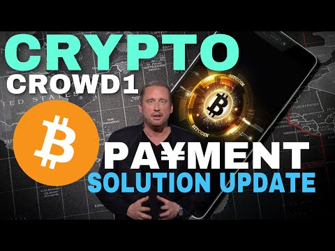 CROWD1 BITCOIN CRYPTO DEAL UPDATE SEPTEMBER 16, PAYMENT SOLUTION
