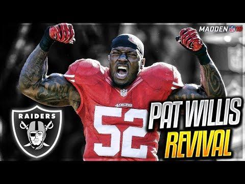 PATRICK WILLIS UN-RETIRES TO HELP RAIDERS SUPER BOWL PUSH! | PATRICK WILLIS MADDEN 18 CAREER MODE