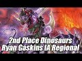 2nd Place Dinosaurs by Ryan Gaskins IA Regionals Deck Profile
