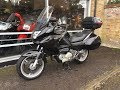 HONDA DEAUVILLE  NT700 ABS 2009 BLACK START UP & REVIEW