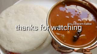 ಹೋಟೆಲ್ ಸಾಂಬಾರ್ ಇಡ್ಲಿ/Hotel style udapi samber for idli/quick samber recipe in kannada thumbnail