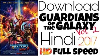 Download Guardians of the Galaxy Vol 2 in Hindi Audio Blue Ray (LINK UPDATED)