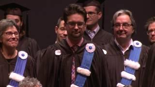 Collation des grades 2016 de la Faculté de science politique et de droit