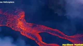 Erupting volcano in hawaii || volcano eruption yellowstone || recent volcano eruption