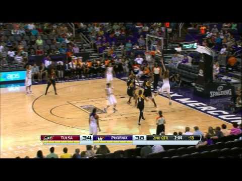 Brittney Griner nets 28 points as Phoenix Mercury beats Tulsa Shock