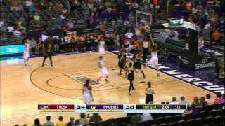 Brittney Griner nets 28 points as Phoenix Mercury beats Tulsa Shock