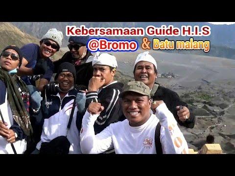 kebersamaan guide H.I.S di bromo&batu malang