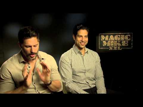 Magic Mike XXL cast on stripping injuries