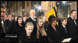 Kaiserhymne - Requiem für Otto von Habsburg, Trauergottesdienst in Wien, 16. Juli 2011AD