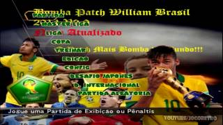 Bomba Patch William Brasileirão 2014 ver. 2.0 no Playstation 2
