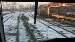 SA132 WOLSZTYN-POZNAŃ 3/6 Przejazd w kabinie - Cab Ride - Führerstandsmitfahrt (KOLEJWIZJA)