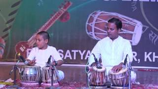 Tabla Playing by Vedansh Sharma and bhavani Sankar Sharma Students of Jaipur Sangeet Mahavidyalaya