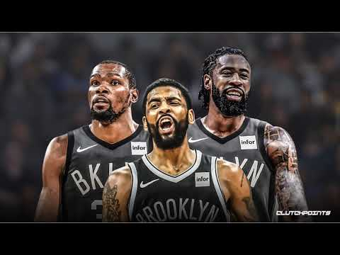 KEVIN DURANT KYRIE IRVING DEANDRE JORDON TO THE NETS