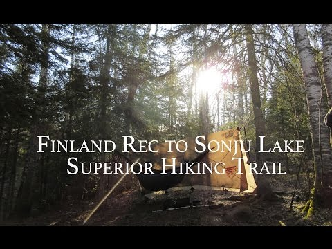 Finland to Sonju on Superior Hiking Trail Minnesota