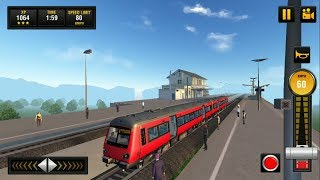 Euro Train 2018: Tourist Driving Simulator Game 3D #6 Android GamePlay & Euro Metro Train Game Video
