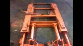 Homemade  Portable Hydraulic Vehicle Scissor Lift