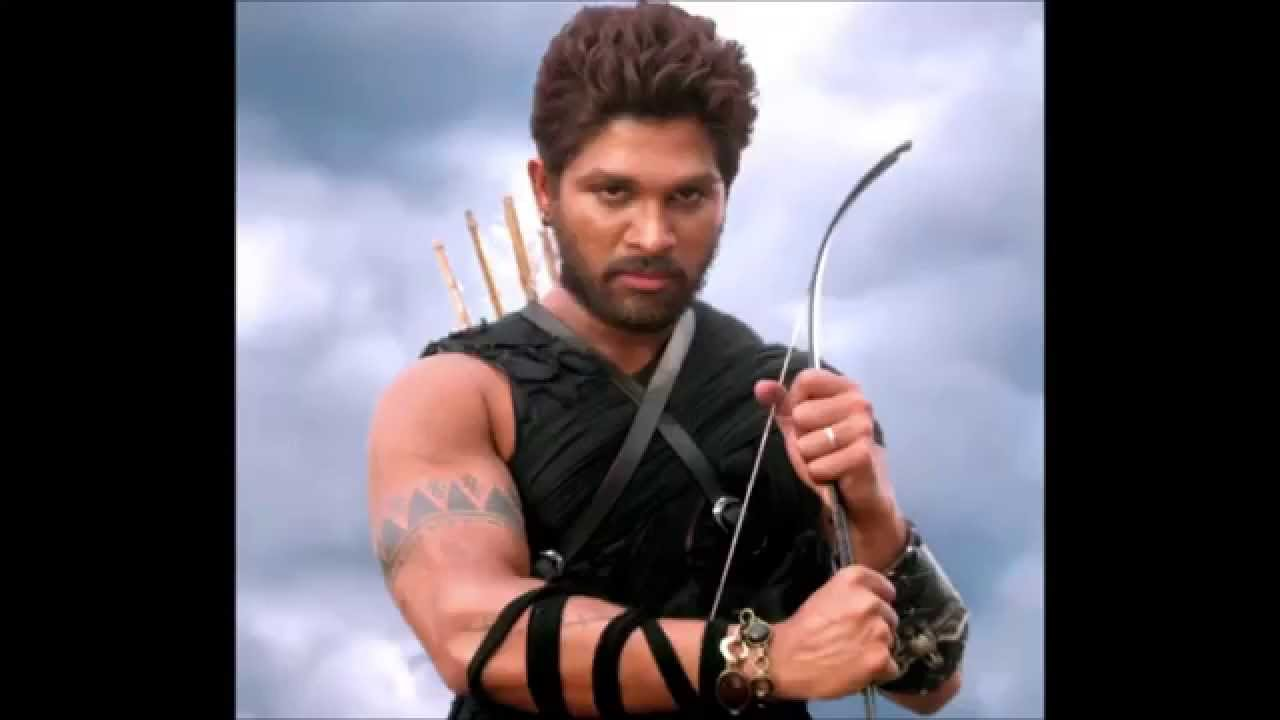 allu arjun s different hair styles in his movies youtube